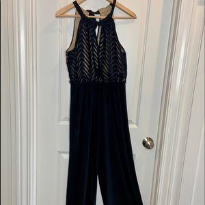 407680fce19 Emma Michele Black Pant Suit Romper